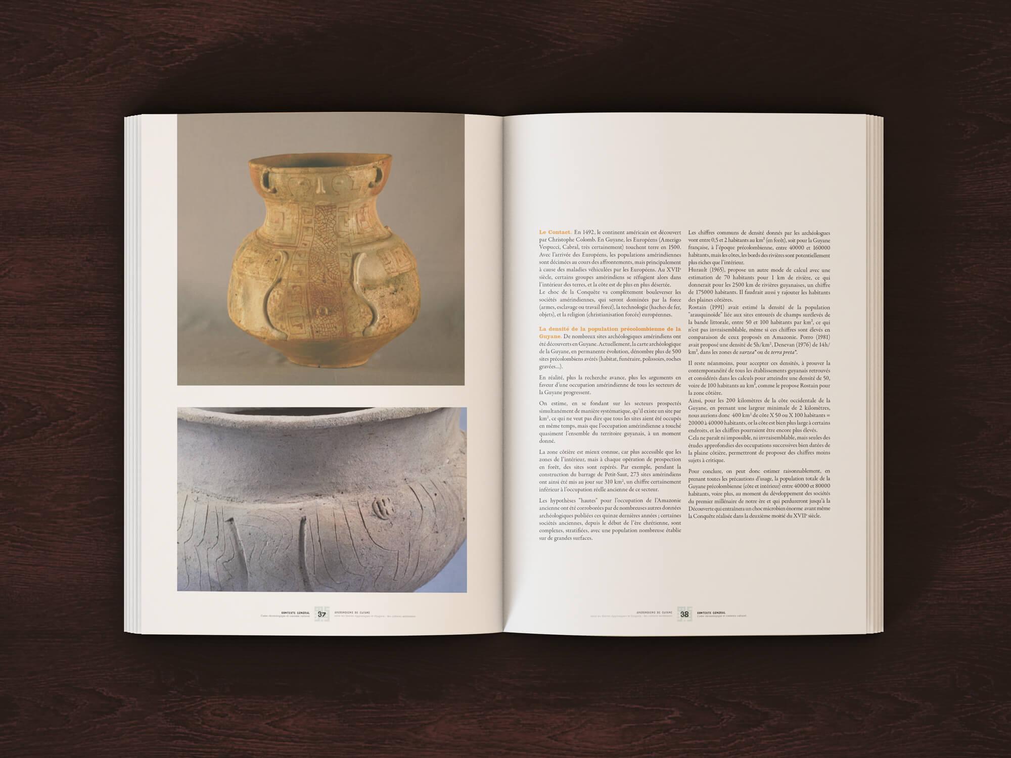 guyane édition exposition amérindiens Musée d'archéologie nationale