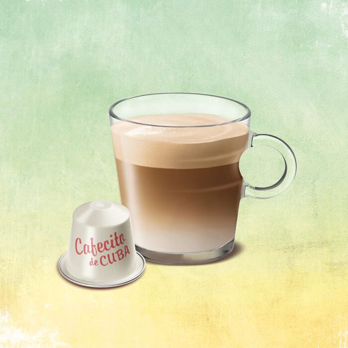 Nespresso keyvisual publicité édition limitée Cafecito de Cuba