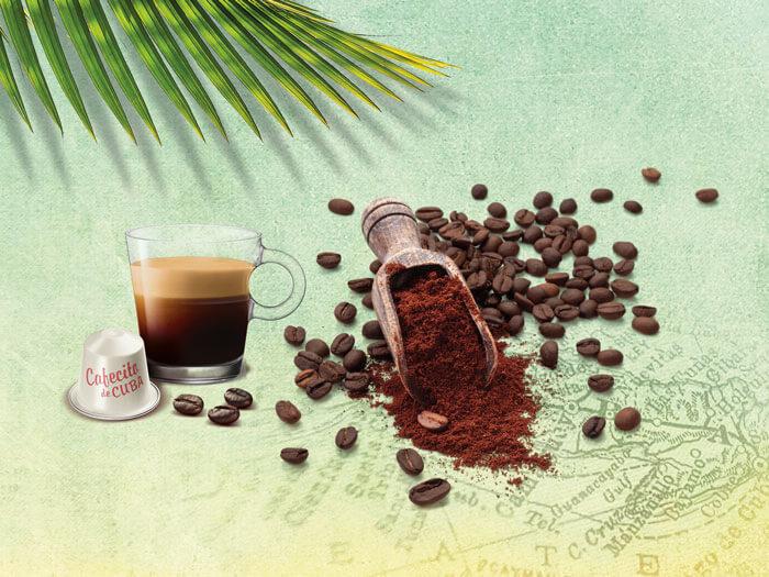 Nespresso keyvisual publicité édition limitée Cafecito de Cuba portfolio projets