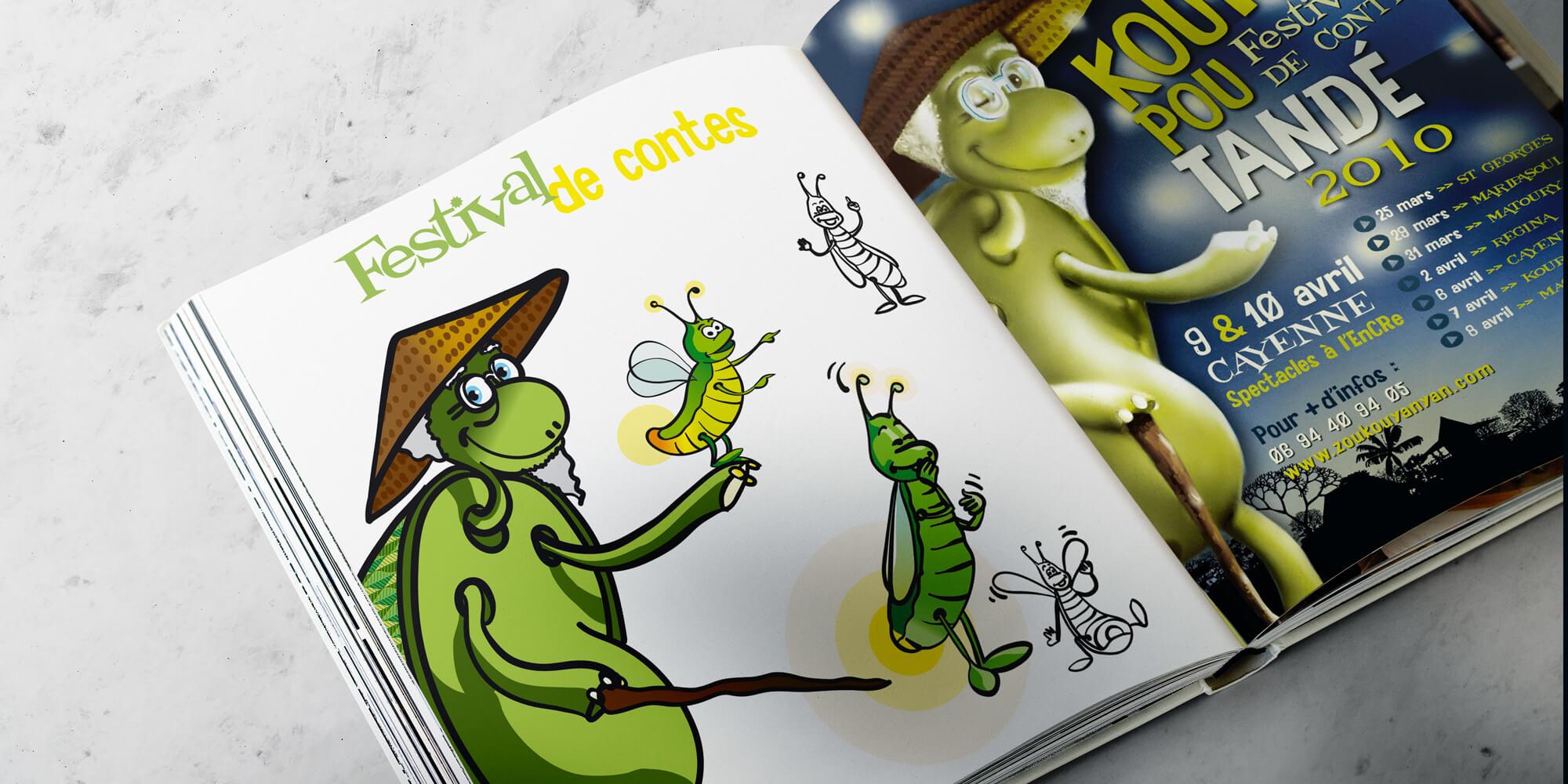 illustrations Festival de Contes Zoukouyanyan guyane Kouté Pou Tandé cayenne